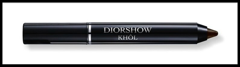 dior diorshow khol smoky brown