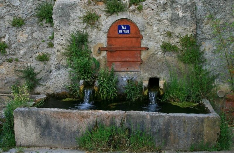 vauvenargues fontaine