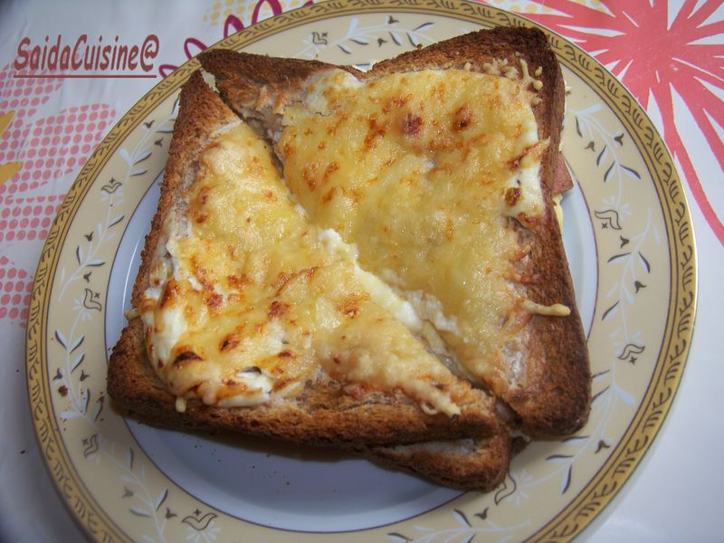 Croque Monsieur au pains complet