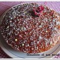 Gâteau moelleux à la confiture