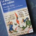La bible arrachée au sable