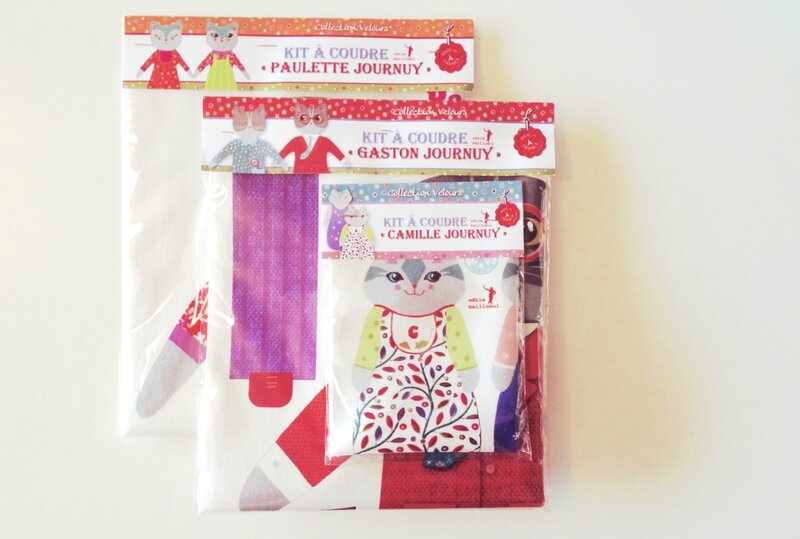 kit couture chat Odile Bailloeul