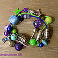 Trio multicolore (personnalisable) 30 euros
