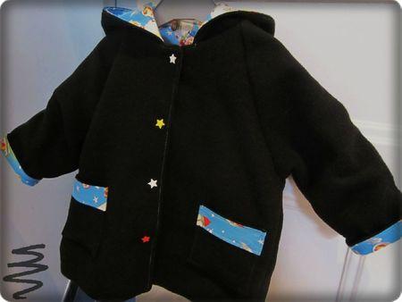 manteau césar 12 18 mois manches raccourcies - Copie