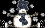 bonhomme neige folk