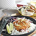 Poulet makhani ou poulet au beurre, un plat du nord de l'inde