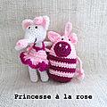 Ronchonchon il aime pas les princesses à la rose, ça donne des histoires à la noix !