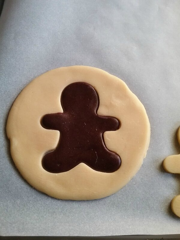 Biscuits Bonhomme vanille chocolat 035