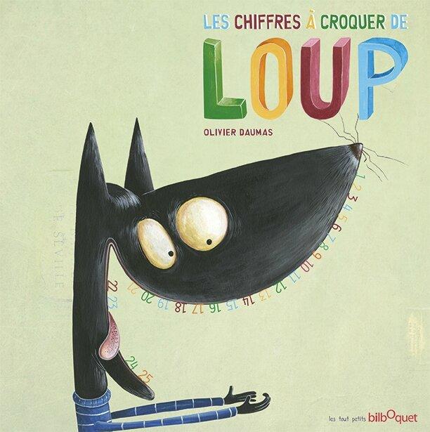 """La couverture des """"Chiffres à croquer de Loup"""""""