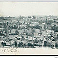 Carte postale Wasmes panorama du Terril du Pachy