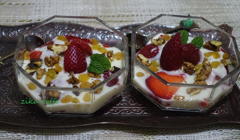 verrines fruits yaourt1