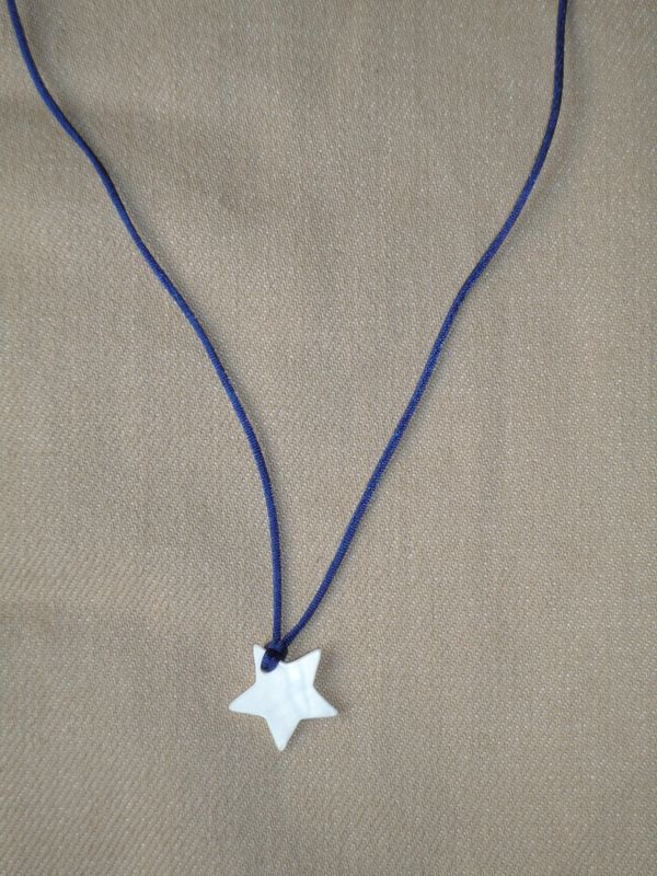étoile nacre blanche, lien marine