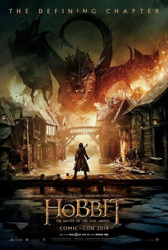 The Hobbit Battle of Five Armies movie poster