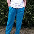 Pantalon sunny en lin