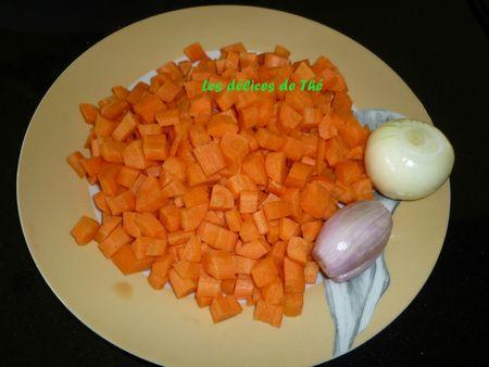 Caille sur canapé carottes quinoa boulghour (5)