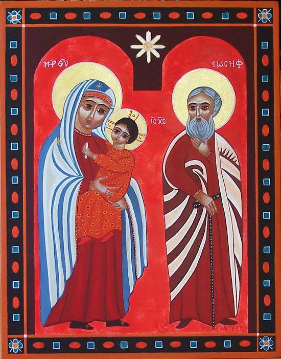 Sainte Famille Copte