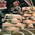 Douceurs fondantes à la pistache et au chocolat blanc
