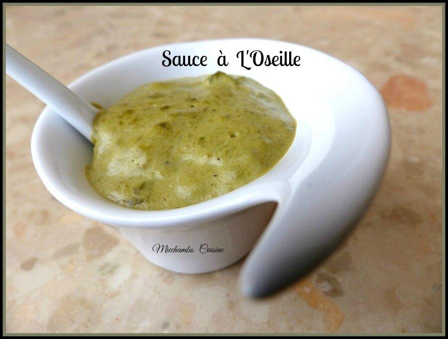 Noix de St Jacques et Espadon Grillés, Sauce à l' Oseille