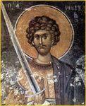 St Mercure martyr à Smolensk au XIIIe s