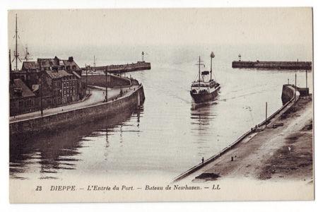 76 - DIEPPE - Entrée du Port