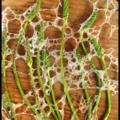 Manger un paysage : brumes des bois à l'asperge des bois