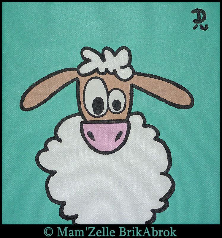 Léon le Mouton - VENDUE
