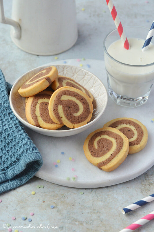biscuit bicolore chocolat vanille spirale thermomix (1)