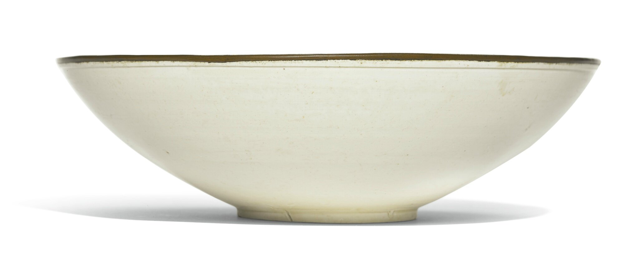 A 'Ding' 'twin fish' bowl, Song dynasty