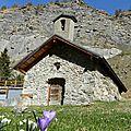 La chapelle saint jean de chambran (vallon de l'eychauda) pelvoux - pays des ecrins