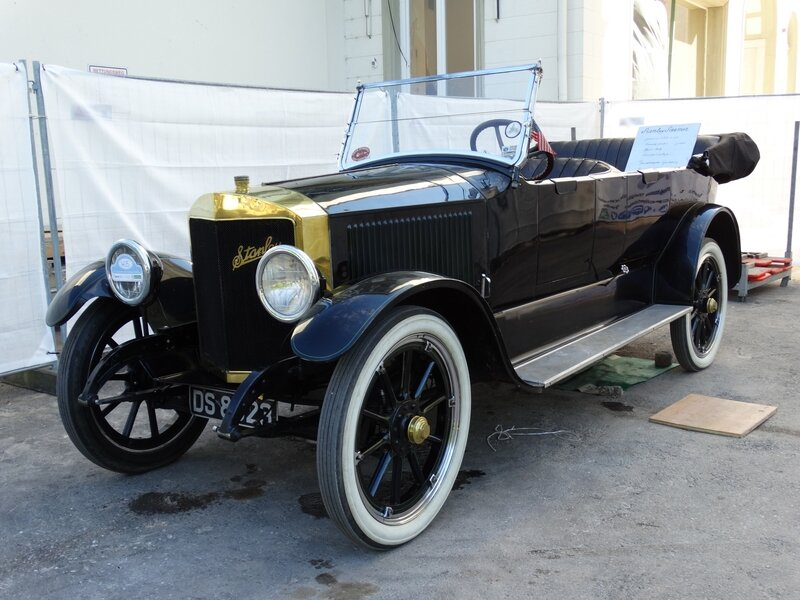 STANLEY Steamer Model 735-B 7 passenger touring car 1919 Baden Baden (1)