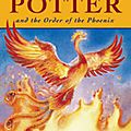 J.k rowling, harry potter and the order of the phoenix