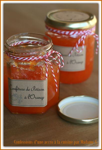 Confiture potiron orange 005