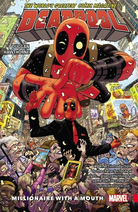 deadpool world's greatest vol 1 millionaire with a mouth TP