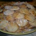 Amaretti aux écorces d'oranges confites façon nanou