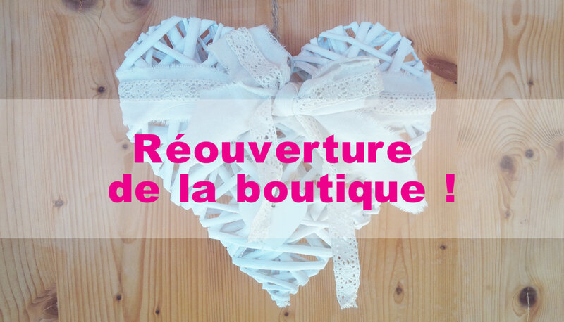 Reouverture boutique Deconfinement