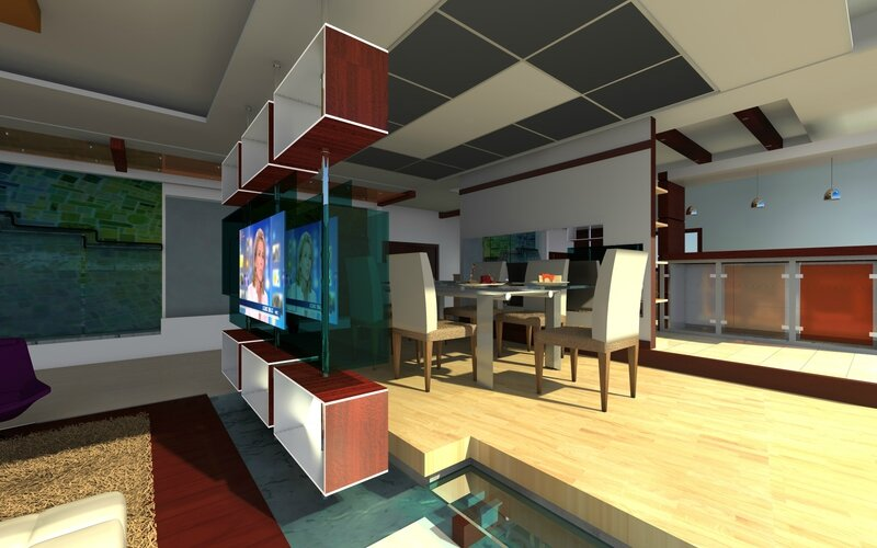 Dining Room by Flore Aka Design