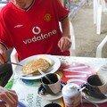 G035 Petit déj avant de quitter Managua