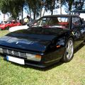 Ferrari mondial cabriolet (4ème Fête Autorétro étang d' Ohnenheim) 01