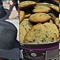 Cookies au cruesli et aux pépites de chocolat
