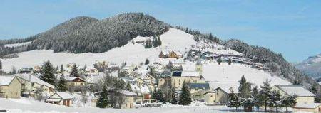 Correncon en Vercors - Le Peuil en neige