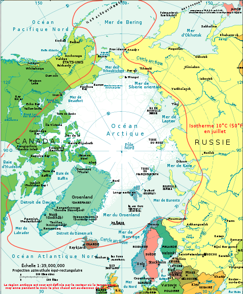 Arctic-fr (author CIA World Factbook)