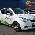 German e-cars stromos at 2011 sur base opel agila edition