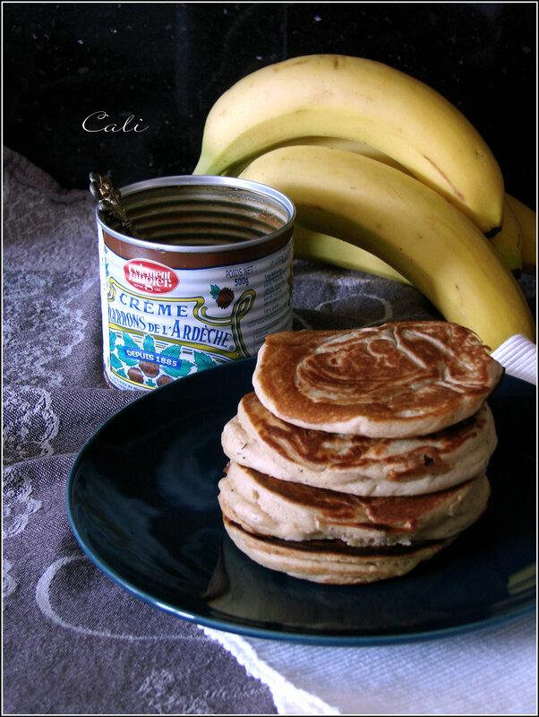 Petits Pancakes à la Banane 001