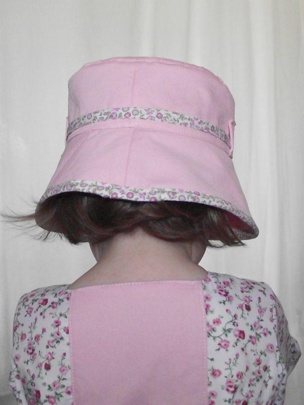Chapeau cloche fillette 48-50cm 6