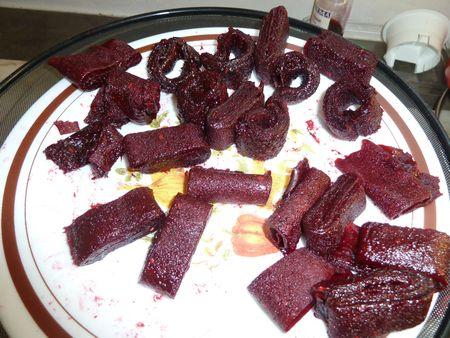 cuir de fruits