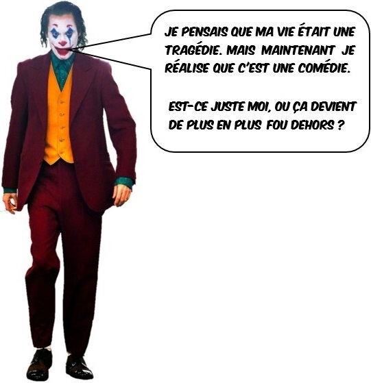 Quartier Drouot - Joker (Arthur Fleck)