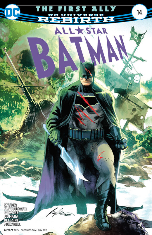 rebirth all star batman 14