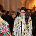 2015 - avril - 5 (samedi) - Défilé FEMMES EN CIRES au salon Jardins d'Artistes de TOUQUES (29)