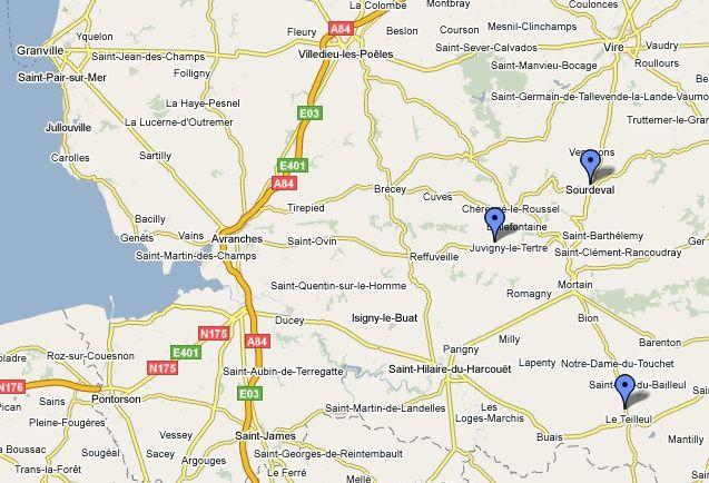vers la fermeture de collèges à Juvigny-le-Tertre, le Teilleul et Sourdeval - janvier 2009