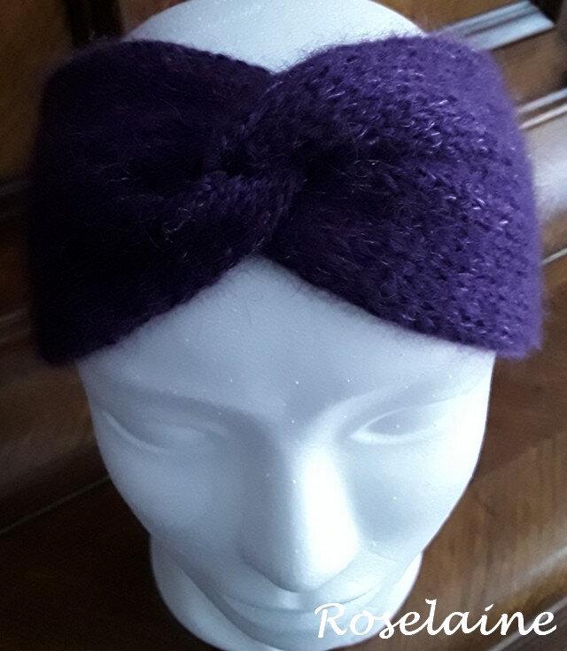 Roselaine Winter Smiles headband by Drops Design 1